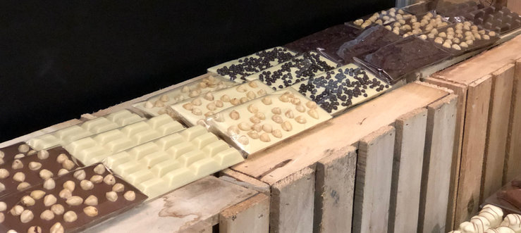 Chocolade-tabletten