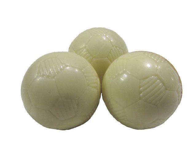 Voetballetjes praliné W