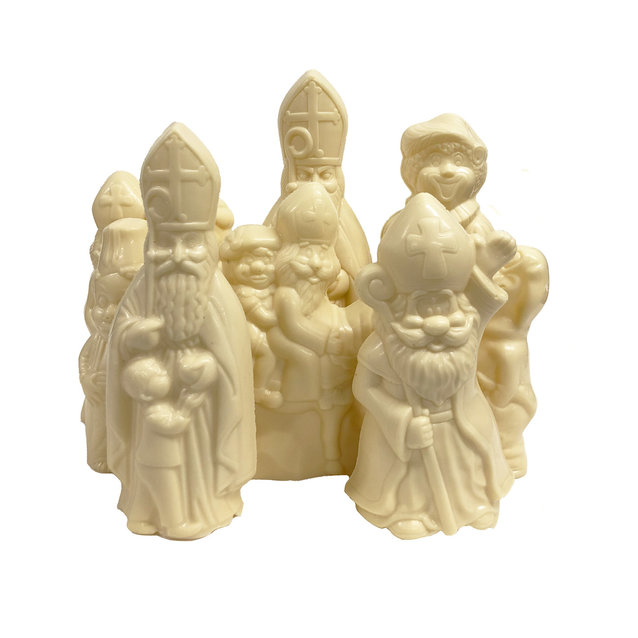 Ass. large sint figures white