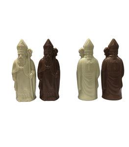 Sinterklaas melk/wit 12 cm